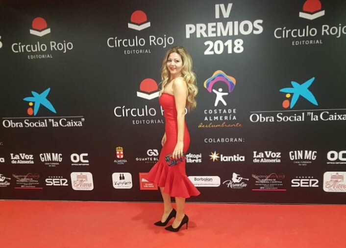 Gala Círculo Rojo premios Dácil Rodríguez