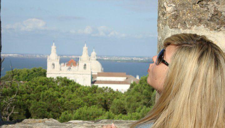 Castillo de San Jorge, Portugal. Viajes, diarios de viaje. Diarios de una errante
