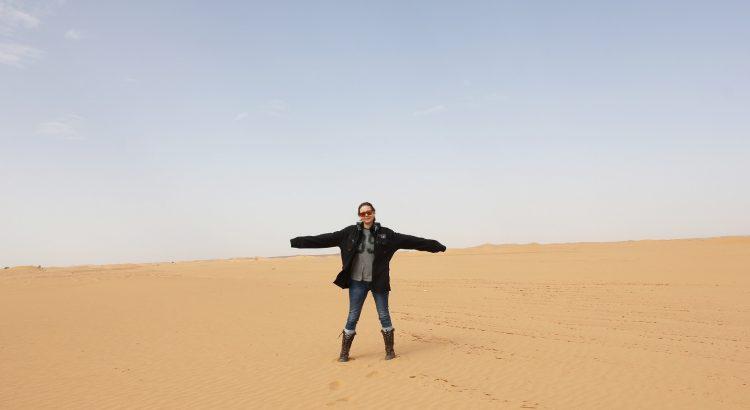 Viaje por África, Argelia Dácil Rodríguez